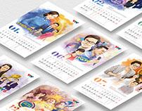 VTV Calendar 2018