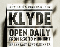 Klyde / Café & Wine Bar