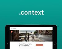Context - news platform