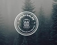 """Logo Design for """"Gəzəyənlər"""" Young Traveller Community"""