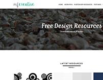 Mfcreative re-design