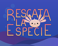 Rescue The Specie - App Graphic Proposal