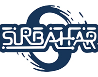 Surbahar - logotype, CD cover, poster