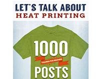 Blog graphic for Tedstahl.com celebrating 1000 posts.