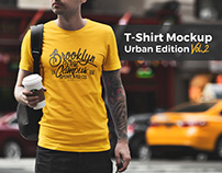 T-Shirt Mockup Urban Edition Vol. 2