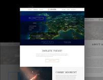 Corporate website design concept