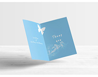 Invitation & Greeting Card Mock-Ups