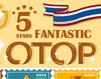 INFOGRAPHIC : 5 STARS FANTASTIC OTOP