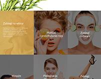 PL / Beauty Saloon Website Created in Bowwe