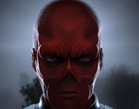 Red Skull Fan Art