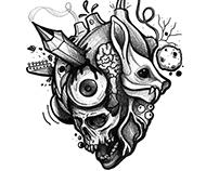 Tatuajes Ilustrados | Blackwork