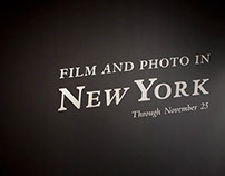 Film and Photo in New York