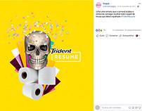 Trident Resume - Peça inspirada em campanha