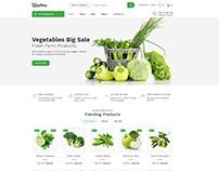 Safira - Organic food HTML Template