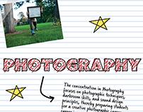 Art + Design Department brochure (pages 13-24)