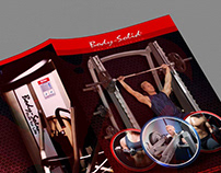 Workout Health Fitness Catalogue creative Cover Design