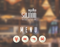 SALMON RESTAURANT MENU K.S.A