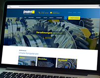 Responsive Webdesign for industrial plants manufacturer