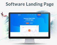 Appllo - Software Landing Page