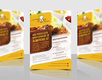 Nordeste Food Service | Panfleto