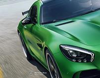 """Mercedes Benz GT-R """"HULK"""""""