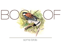 Book of some birds| Aquarelle