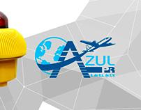 AZUL PR's corporate identity