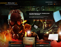 mystery-house.de new website design