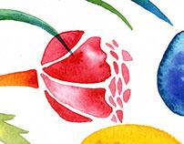 Афиша для школьной ярмарки. Easter school fair poster