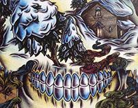 ODÖ x ACT SNOWBOARDING magazine cover