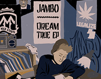 Jambo - Dream True EP Cover