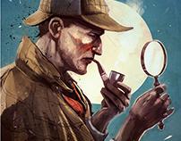 Sherlock Holmes 2017 Calendar and Notebook