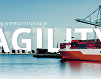 Style guide for logistics company