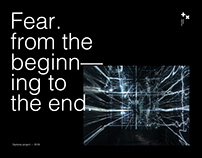 Fear. From the beginning to the end.