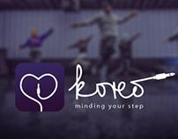 Koreo - apple watch app concept
