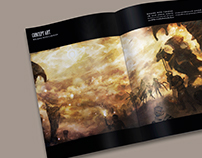Shadenea The Fabled World Concept Art Book
