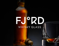 Fjord Whisky glass logo