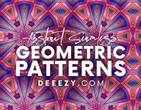12 Free Modern Geometric Patterns 4