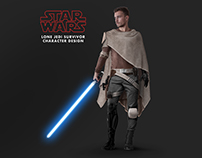 Character Design - Starwars Lone Jedi survivor