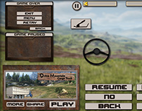 Mountain Cargo Game UI Design