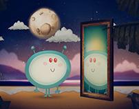 نشوء القمر