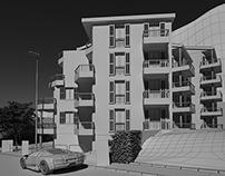 Apartment building, Petrovac, Montenegro