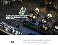 PL / Restaurant Website created in Bowwe