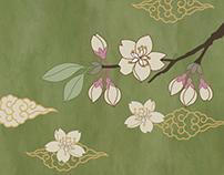 Cherry Blossom Paper Machie