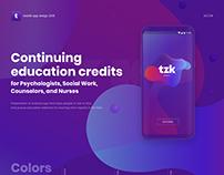 Mobile app design 2018