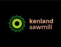 Kenland Sawmill Branding
