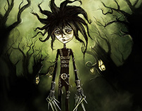 Edward Scissorhands - Play-Boy Book