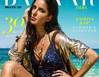 (CONCEPT) HARPER'S BAZAAR MAGAZINE COVER - KATRINA KAIF