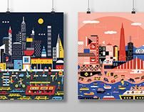 Geometric Cities