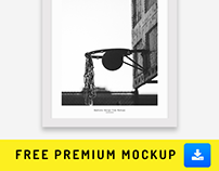 Free Premium Mockup | Photography | Picture | Painting
